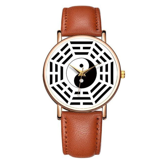 La Mia Cara Jewelry - Baosaili Brown - Divertimento - Unisex Feng Shui Watch