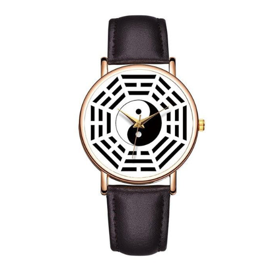 La Mia Cara Jewelry - Baosaili Dark Brown - Divertimento - Unisex Feng Shui Watch