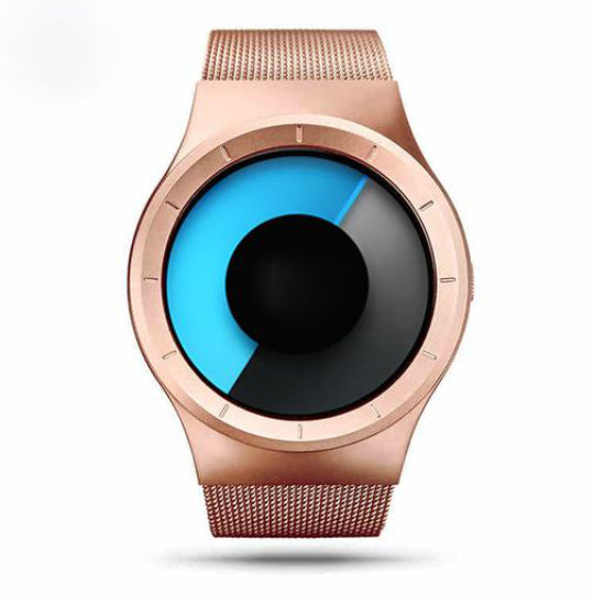 La Mia Cara Jewelry  - Gee think Rose Gold -Unisex Luxury Fashion Multi-Color Watch