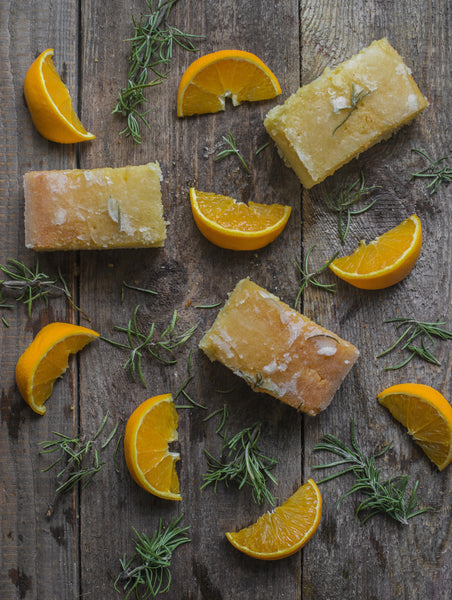 Orange and Rosemary Drizzle