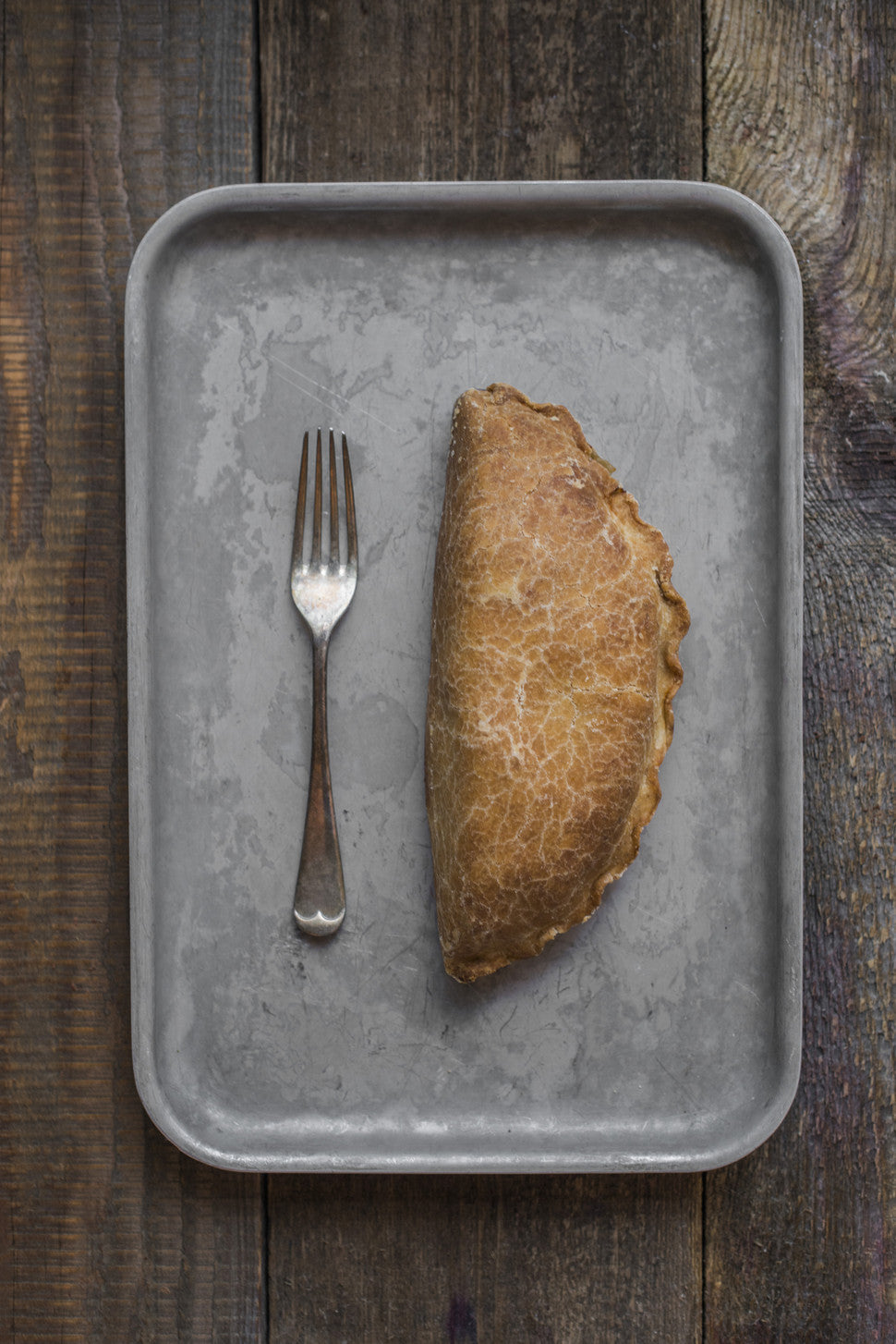 A Cornish Pasty made with equal proportions of Tamar Valley Steak, Potato, Swede and Onion encased in our crisp pastry that holds together when you bite into it.