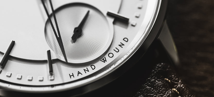 Hand-wound Dial