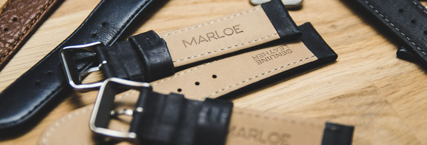 Marloe Leather Straps