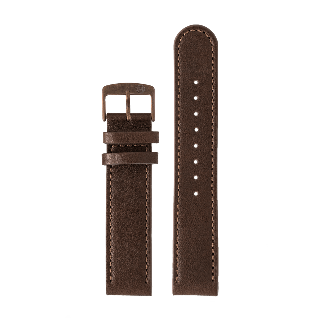 Morar Brown Leather Strap - 20mm