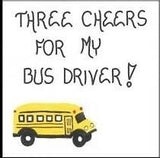 Bus Driver Magnet -Quote of appreciation for person who drives child to school