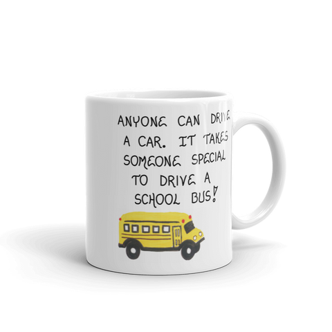 bus driver gift quote.  Thank you to your child's bus driver.