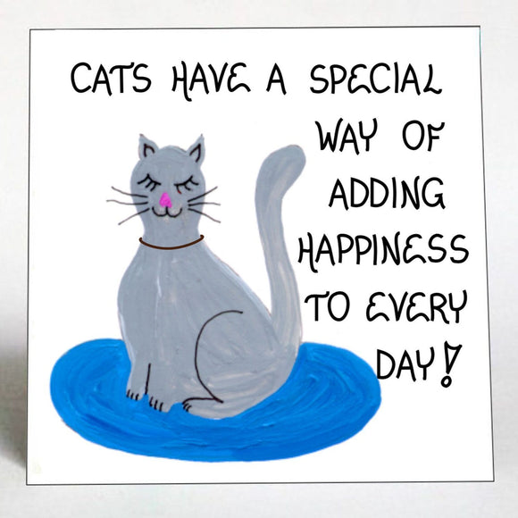 Quote about Cats Magnet