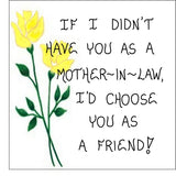 Sister-in-Law Gift  Magnet - Friendship Quote, brothers, husbands sister, spouses sibling