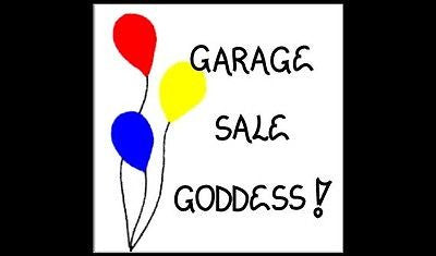 Garage Sale Quote - Magnet - yard sale enthusiasts, second hand, tag, yard selli
