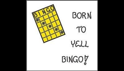 Refrigerator Magnet - Bingo - Humorous quote, game board, gameboard, dauber