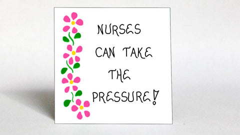 Quote about nurses.  Nursing profession gift. Magnet