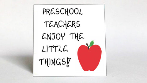 Preschool Teacher Quote Magnet