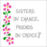 Quote about Sisters - Magnet