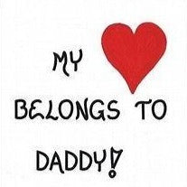 Dad, Quote, Daddy, Father, Pop, Parent, red heart
