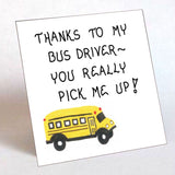 Thank you bus driver