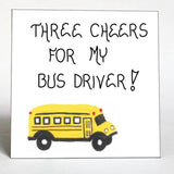 Gift for bus driver - Quote Magnets