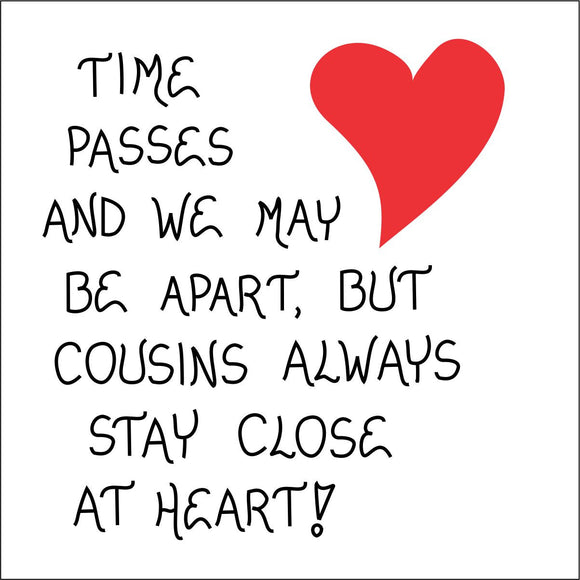 Quote about cousins, love for family