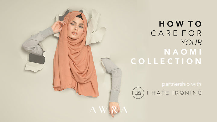 How to care for your Naomi hijabs the right way