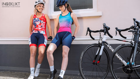 Ingeklikt Amsterdam cycling kit for women