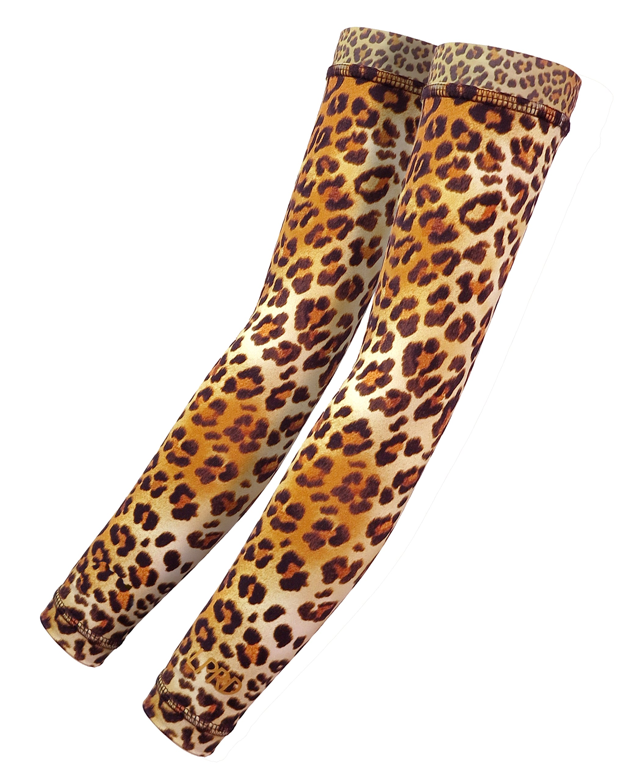 Arm Warmers for cycling in Signature Leopard Print