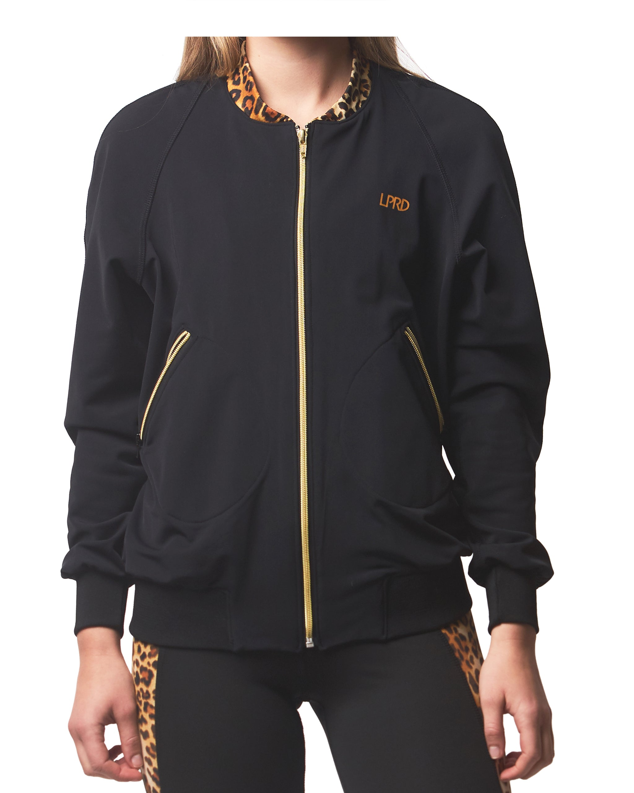 LPRD Bomber Tracksuit Jacket | Front View Close