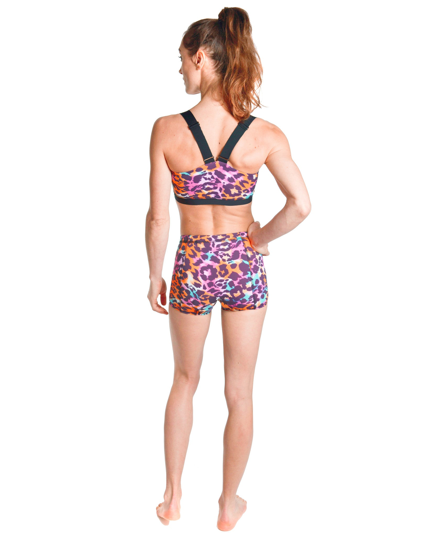 LPRD Pink Cycling Hotpants | Back View