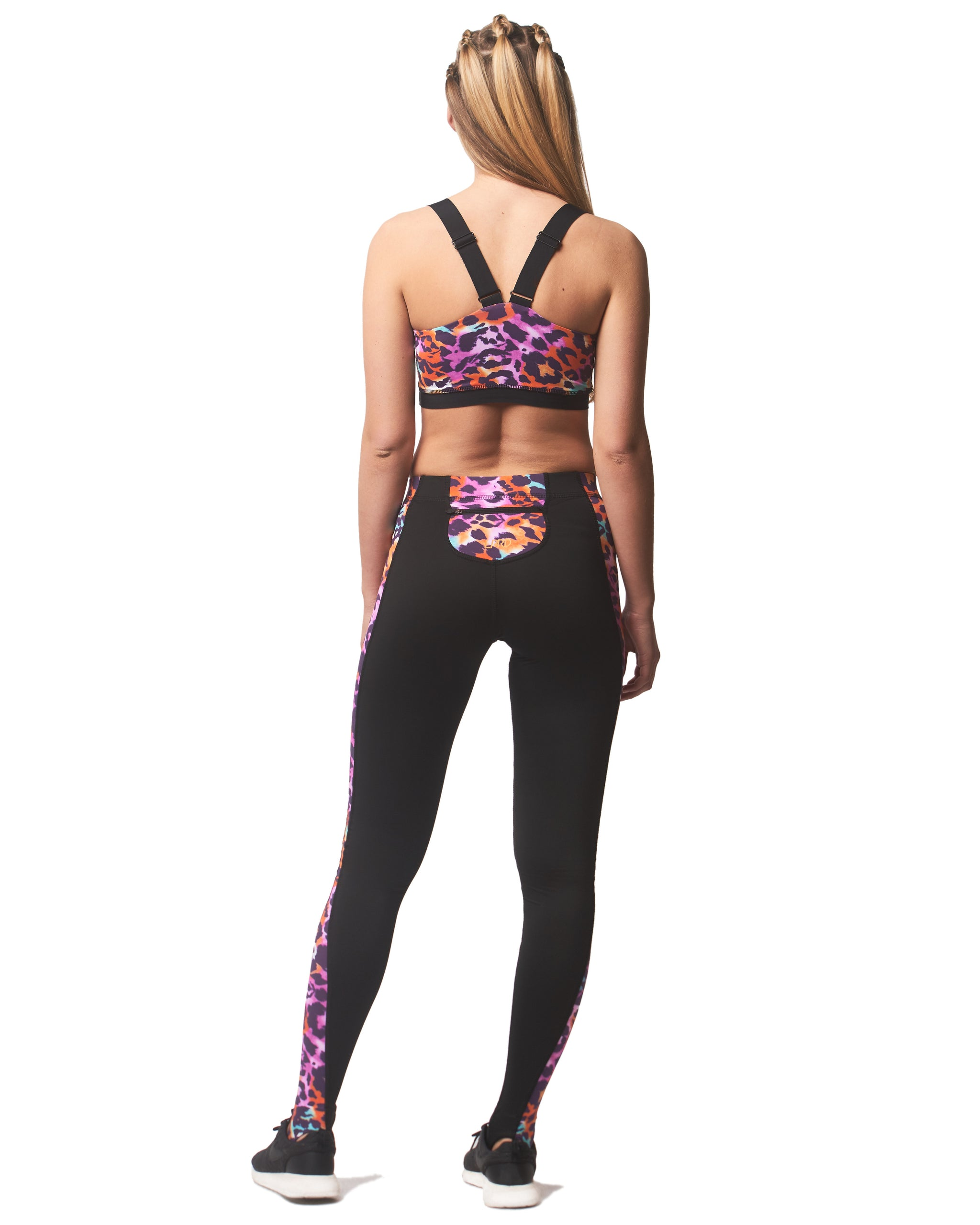 LPRD Pink Leopard Panel Leggings | Back View