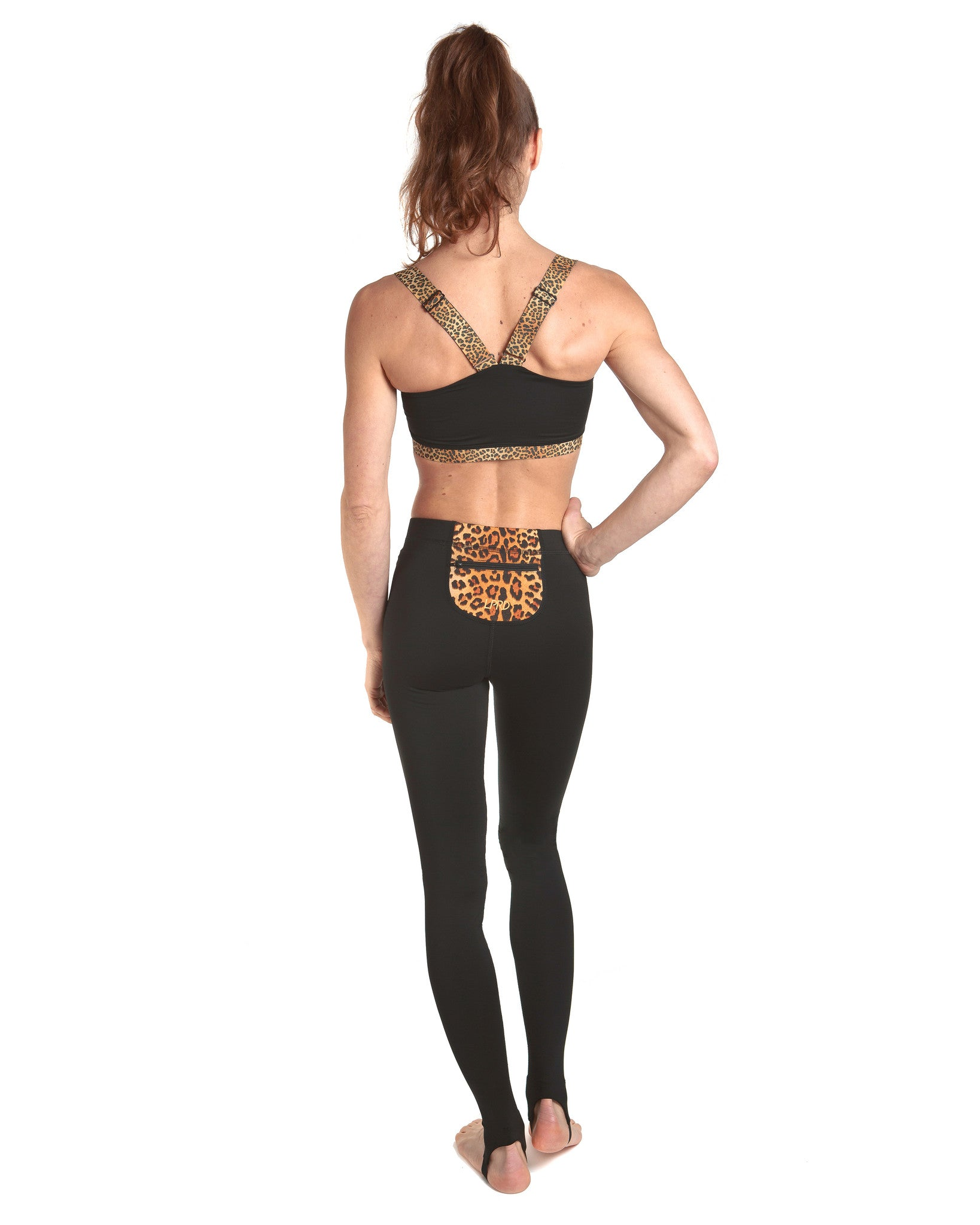 LPRD Black Leggings | Back View