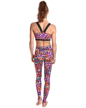 LPRD Pink Leggings | Front View Close