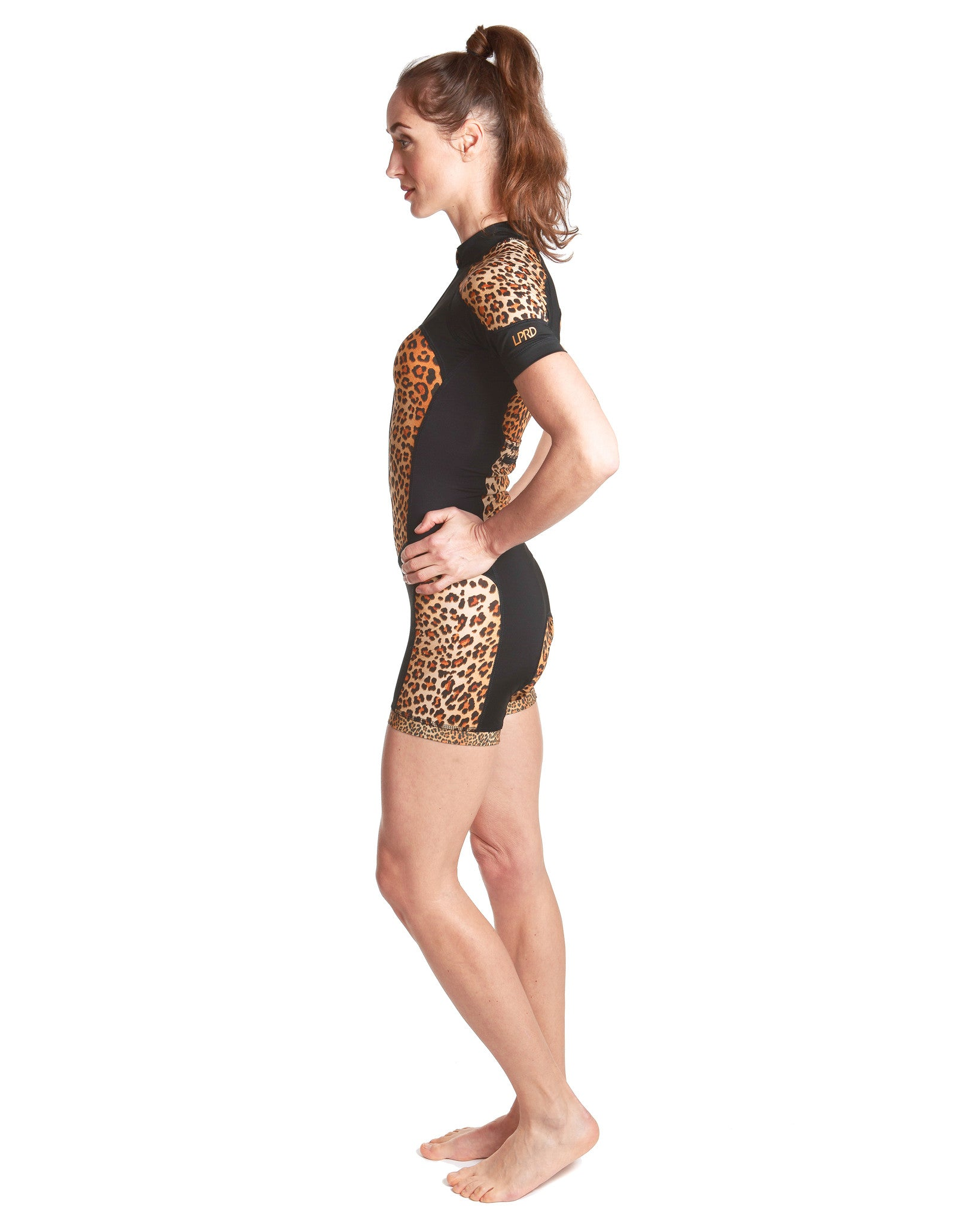 LPRD Leopard Centre Cycling Skinsuit | Side View