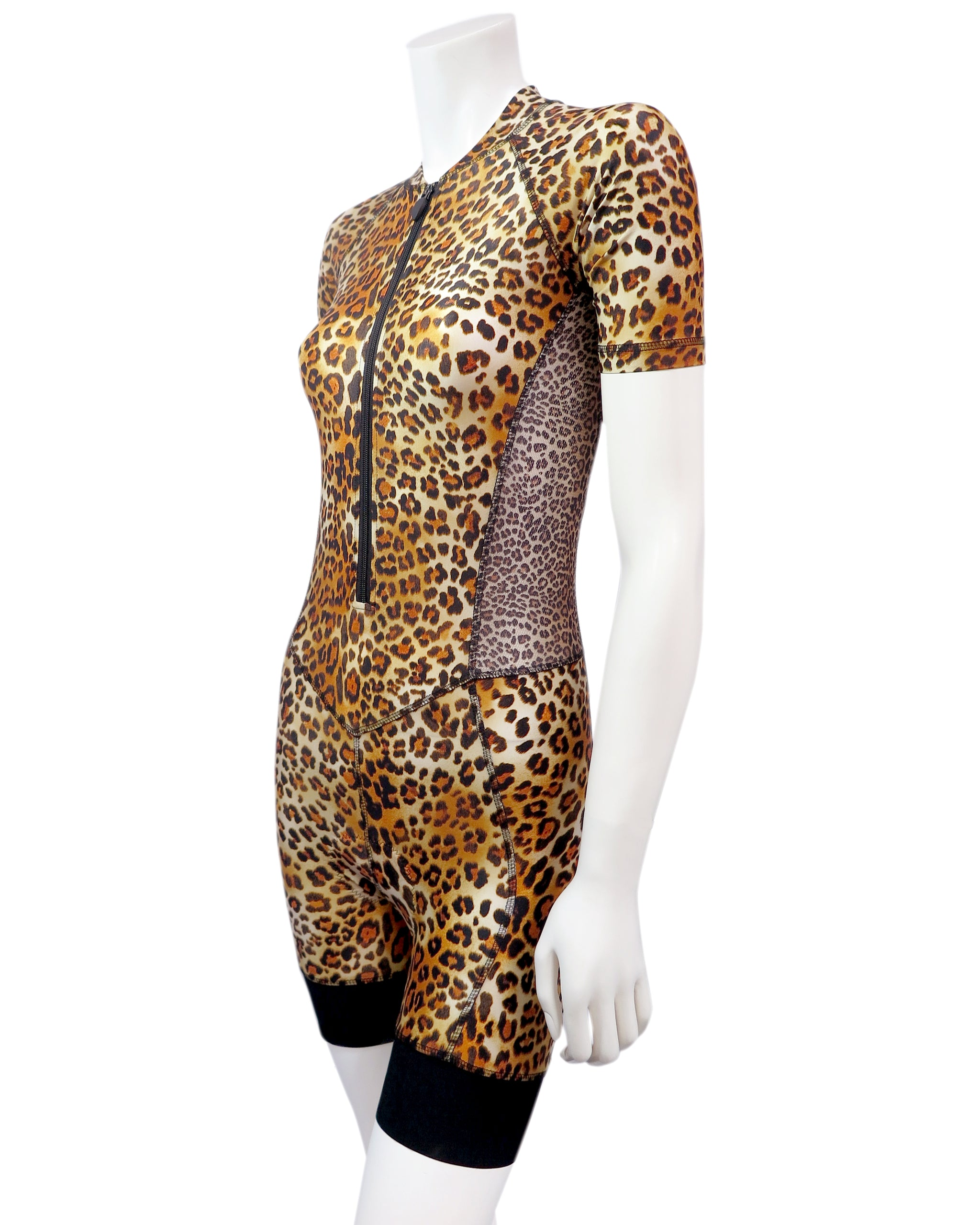 Skinsuit Leopard Print side view