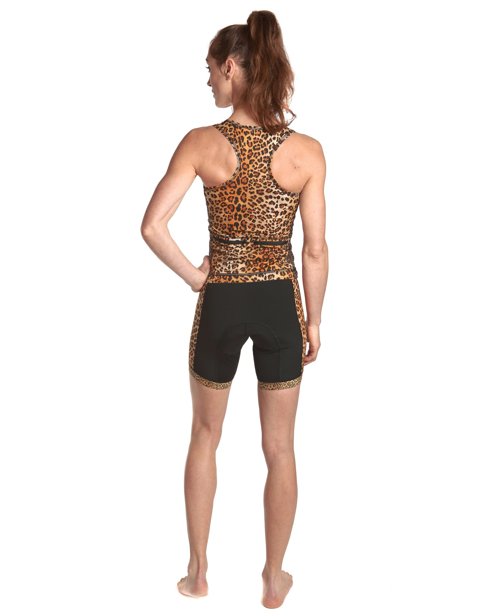 LPRD Leopard Tank Top | Back View