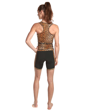LPRD Leopard Tank Top | Front View Close