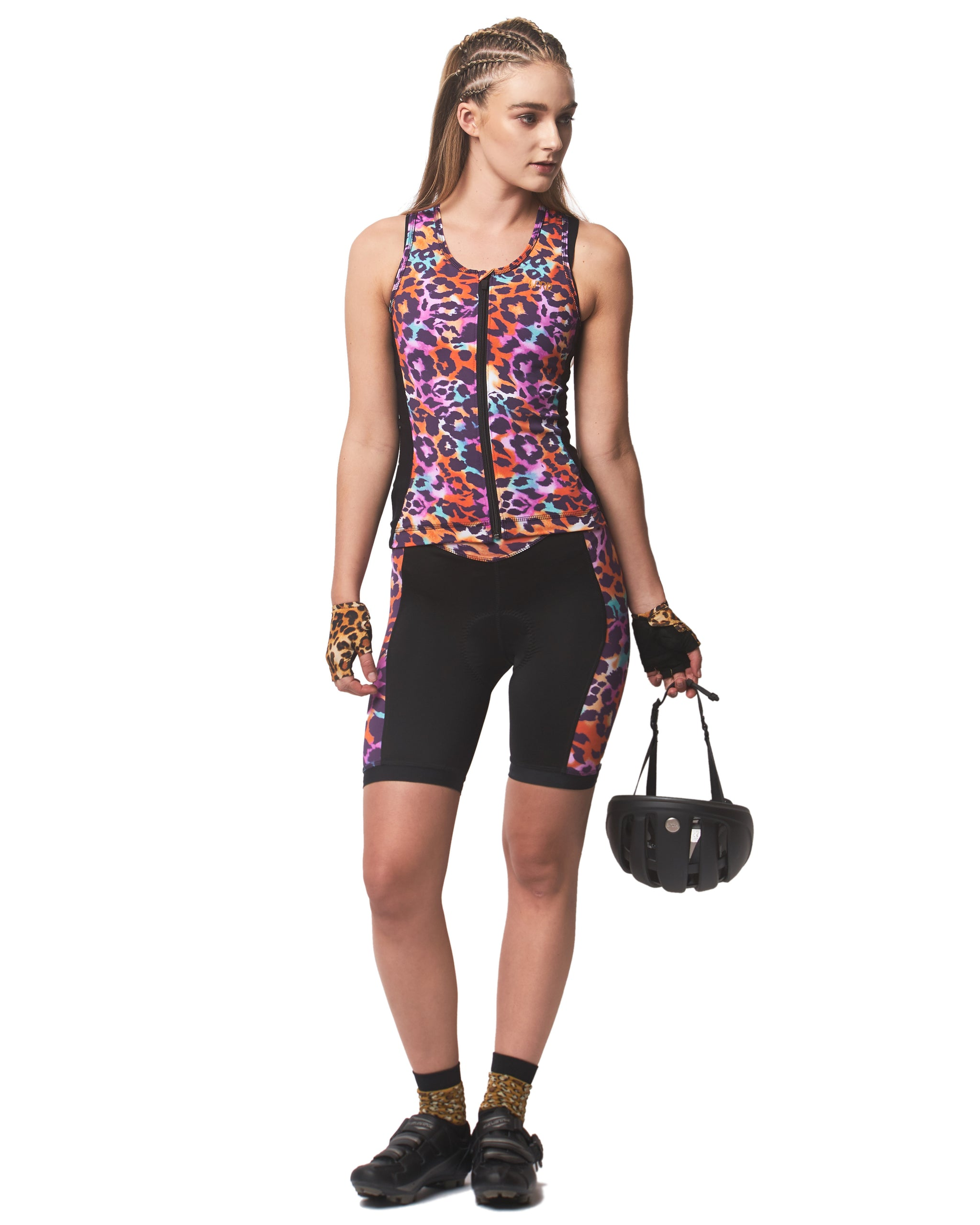 LPRD Tank Top Pink Leopard | Front View