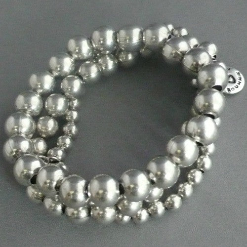 Emporio 3-Row Bracelet - Margie Edwards Jewelry Designs