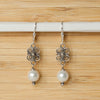 Bali Pearl Earrings - Margie Edwards Jewelry Designs