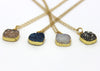 Druzy Agate Necklaces - Margie Edwards Jewelry Designs