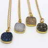 Druzy Agate Necklaces