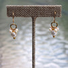Deanna Gold Pearl Earrings