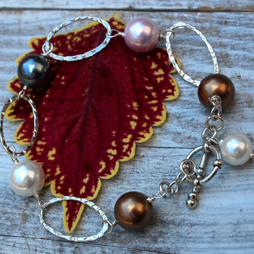 Glenna Pearl Bracelet - Margie Edwards Jewelry Designs