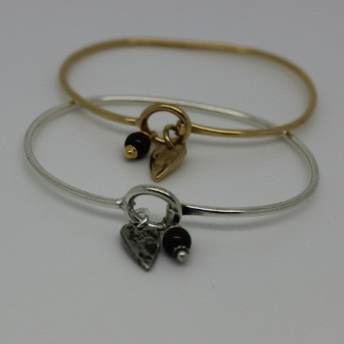 Heart Charm Bracelets - Margie Edwards Jewelry Designs