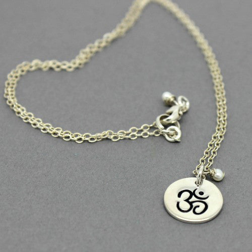 Om Necklace - Margie Edwards Jewelry Designs