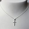 Delicate Cross Necklace - Margie Edwards Jewelry Designs