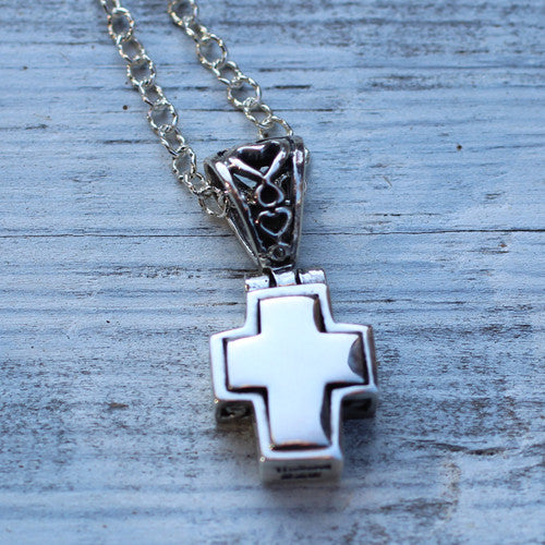 Filigree Cross Necklace - Margie Edwards Jewelry Designs