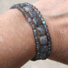 Triple Labradorite Bracelet - Margie Edwards Jewelry Designs