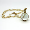 Mini Clear Glass Locket Necklaces