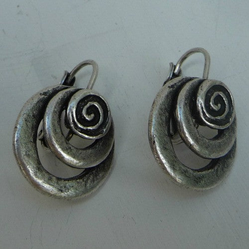 Cyclone Earrings - Margie Edwards Jewelry Designs