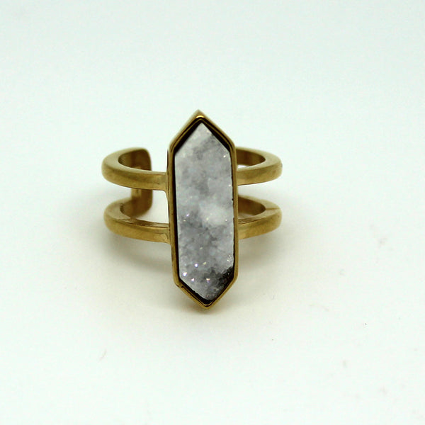 Parvus Quartz Ring-On Sale