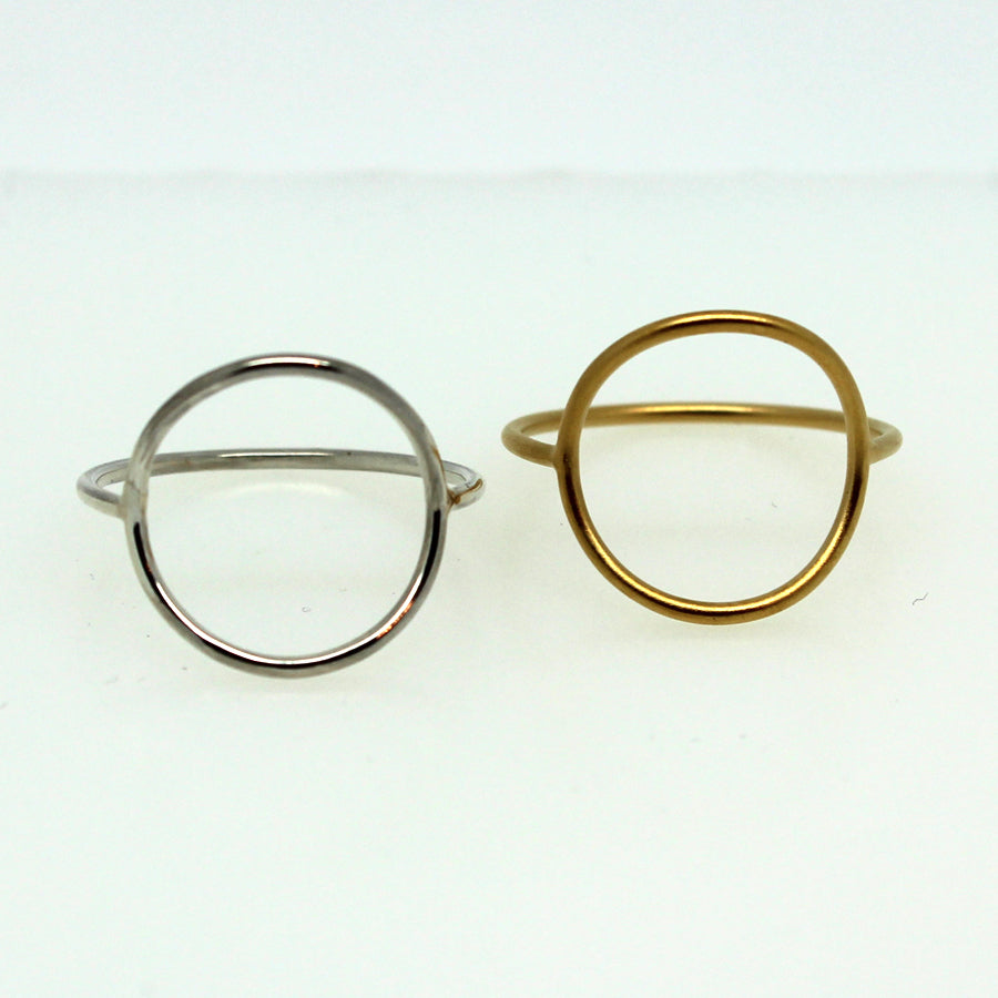 Circle Ring - Margie Edwards Jewelry Designs