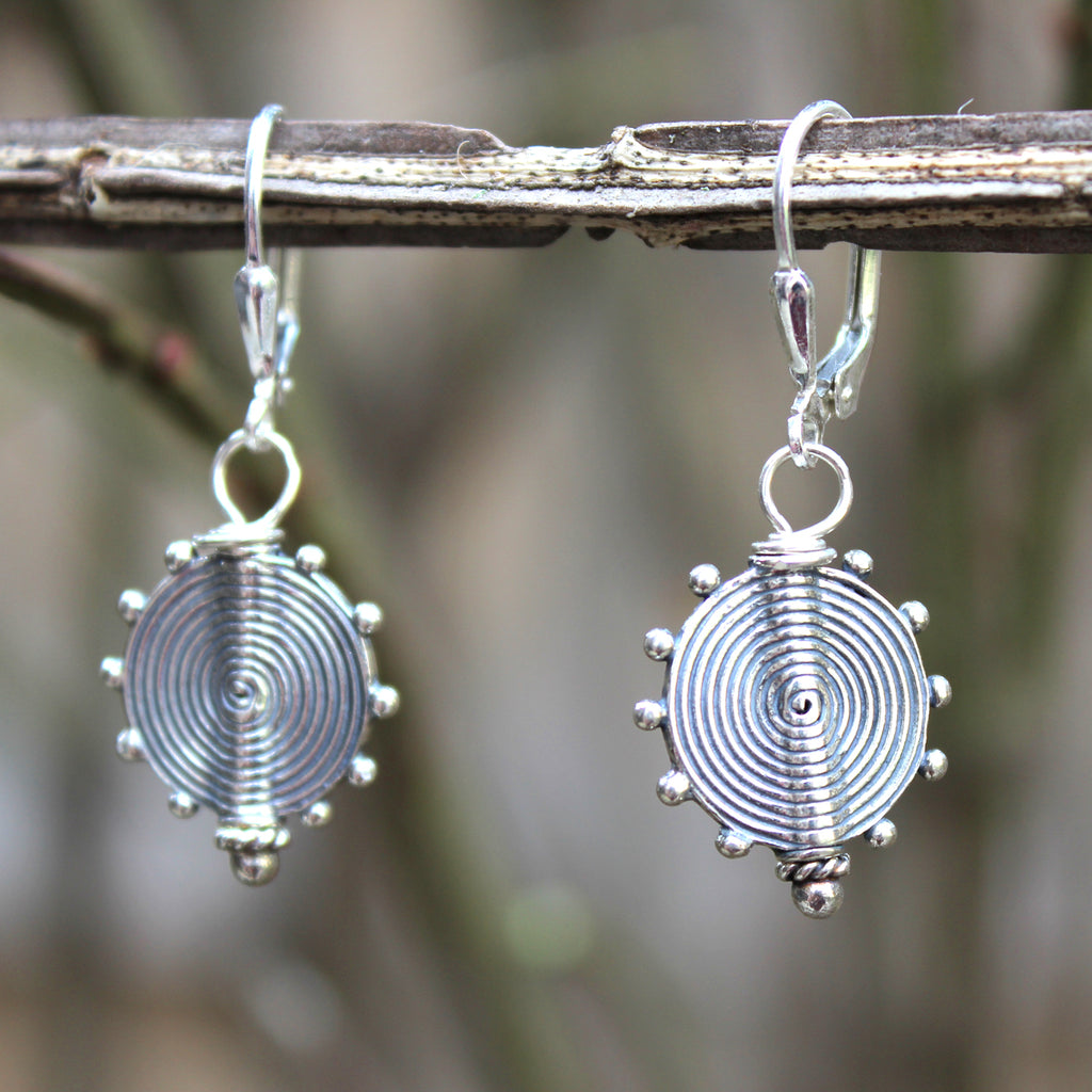 Geo Earrings - Margie Edwards Jewelry Designs